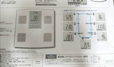 タニタ 体組成計 BC-705N